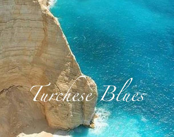 A  summer selection of  Turchese   blues  fabrics