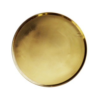 Brass tray large
