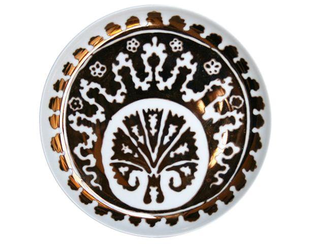 Ottoman damasc plate
