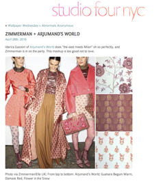 Studio 4 Nyc & Zimmermann