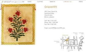 contact details Orient 499
