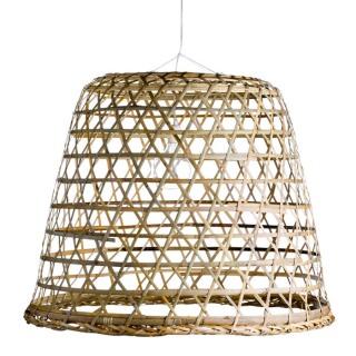 Basket lampshade