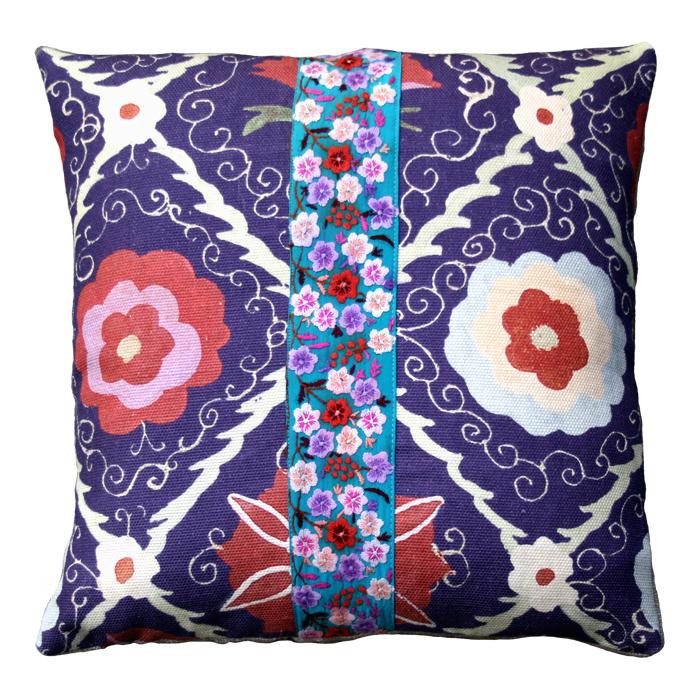 cuscino viola fascia piccola