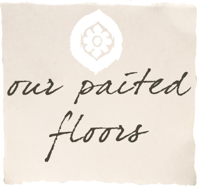 our painted floors