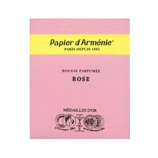 Papier d'Arménie candle Rose