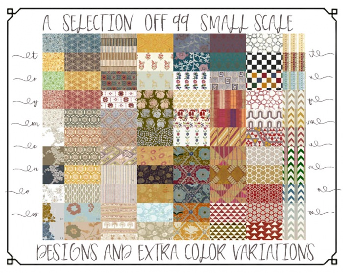 The Small scale designs (panel)
