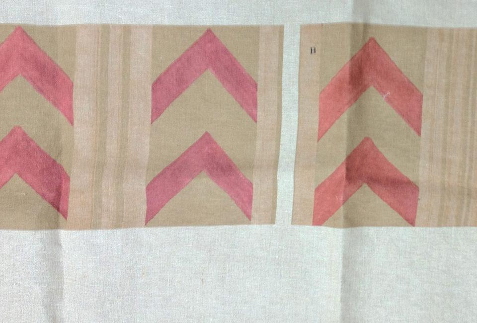 Disegno: Herringbone. Variazione colore in beige crema chiaro. - Design: Herringbone. Color variation light beige.
