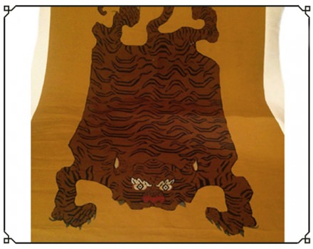 Tibet Tiger Brown (panel)