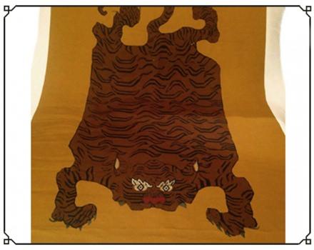 Tibet Tiger Brown (panel)