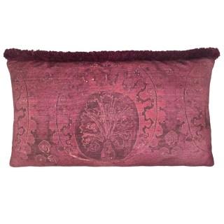 Venice Ottoman Rosso intenso pillow