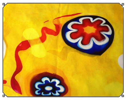 Murrina Yellow (panel)